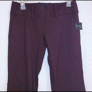 The Limited Drew Fit Size 0R Brown Flare Leg Pants